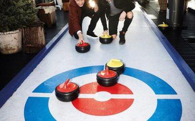 Curling op een unieke locatie!